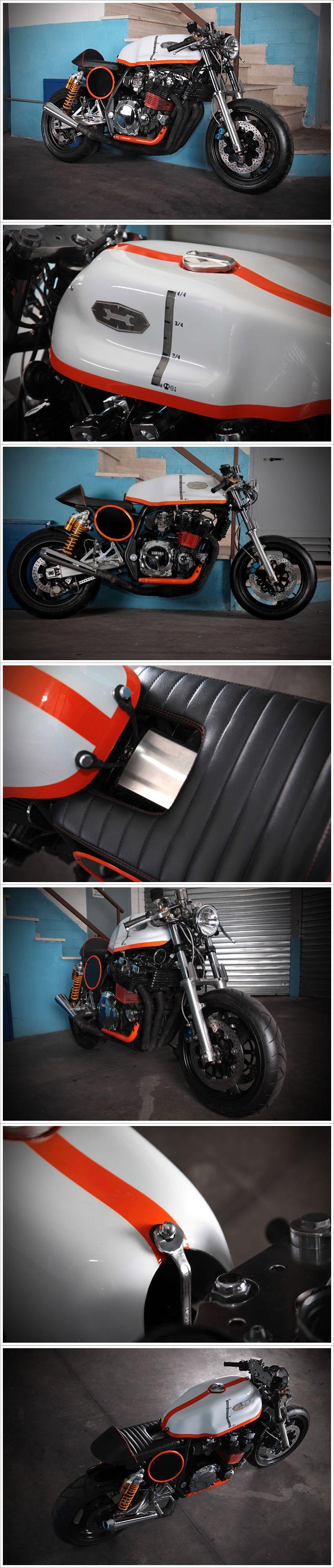 """Çıplak güzel... Yamaha XJR 1200 - """"Mastino"""""""