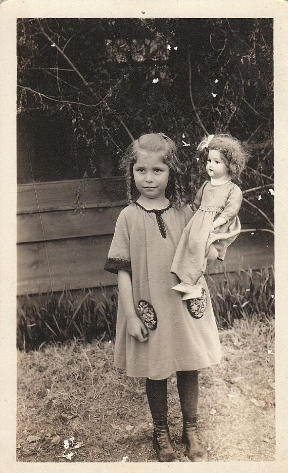 Girl with doll