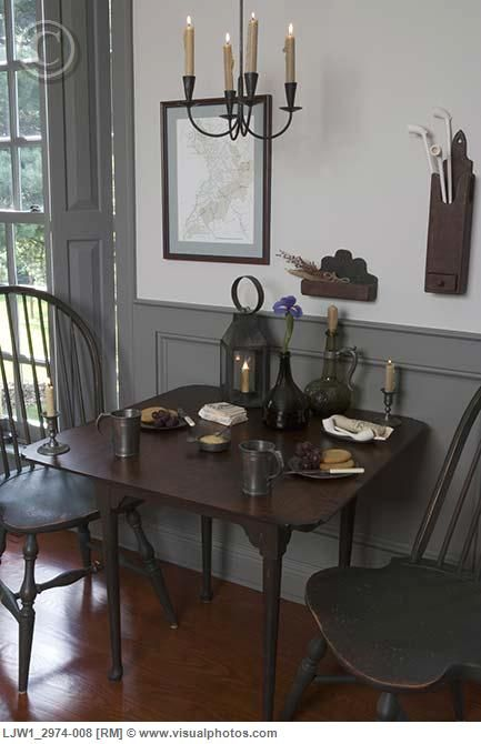 1000 images about early american decor on pinterest for Period dining room ideas