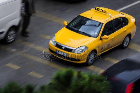 Taxi in the traffic in Izmir (Turkey) – Stock Editorial Photo © carlotoffolo #147737983