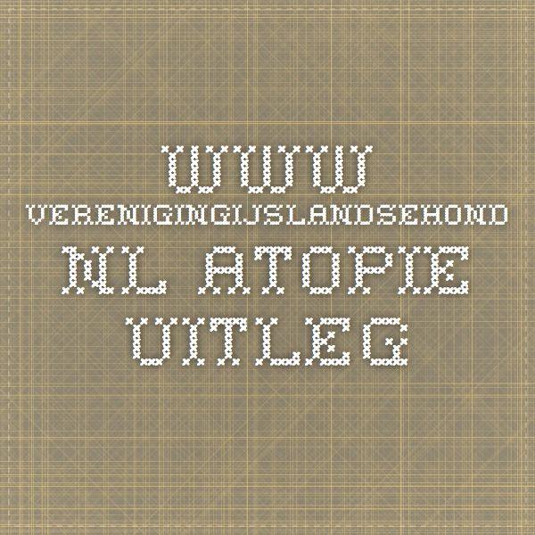 www.verenigingijslandsehond.nl  atopie uitleg