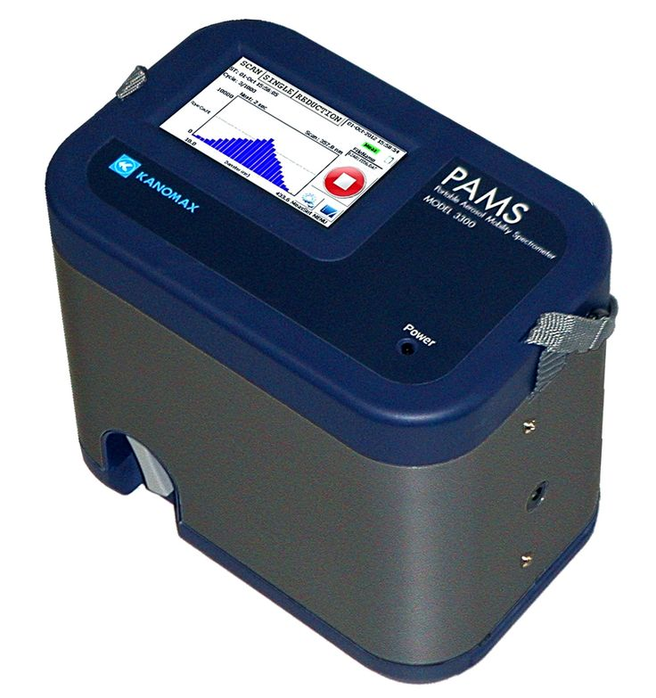 PAMS is an electrical mobility size spectrometer designed for portable, mobile, or handheld aerosol sampling applications. It provides the number-weighted diameter distribution of aerosols over the entire submicrometer range (10 to 863nm) in one scan. The unit uses a nonradioactive bipolar aerosol charger to allow easy access to sampling sites with tight safety regulations. Its bipolar charger significantly reduces measurement uncertainty of larger particles in the submicrometer range.
