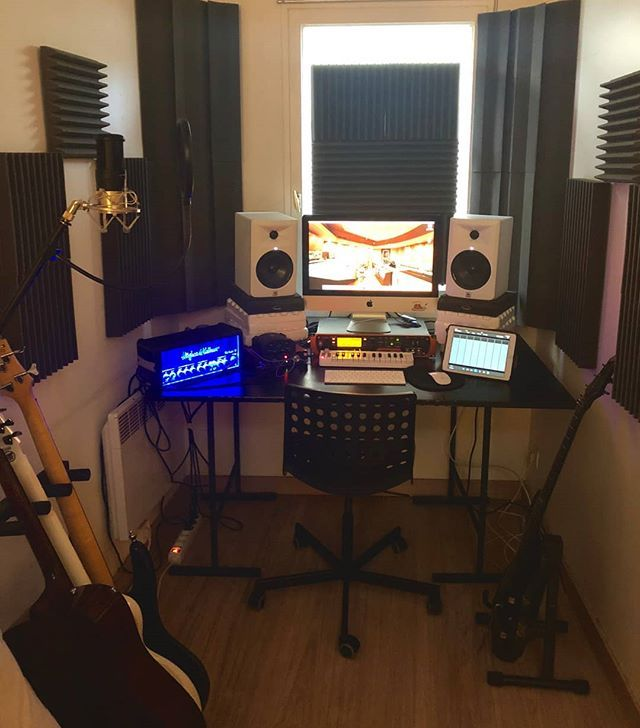 Bedroom Home Recording Studio Design
