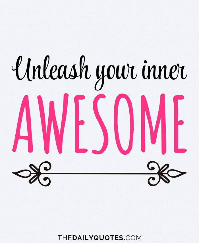 Unleash your inner awesome. Work