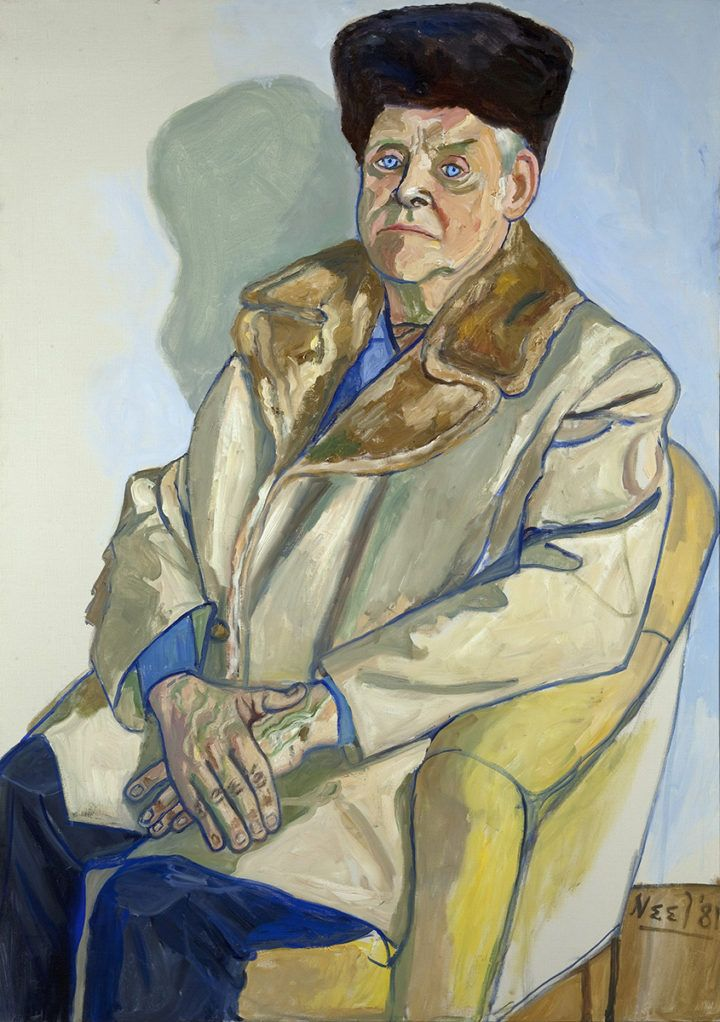Alice Neel: Gus Hall, 1981. Estate of Alice Neel. Kuva: Malcolm Varon, New York © Estate of Alice Neel