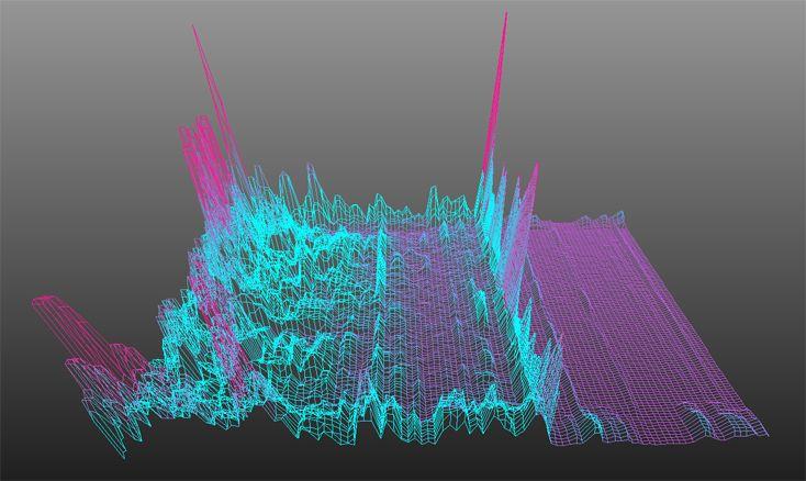 sound data visualization using Firefly for Grasshopper. Check http://www.a-ngine.com/2012/12/dataviz-sound.html