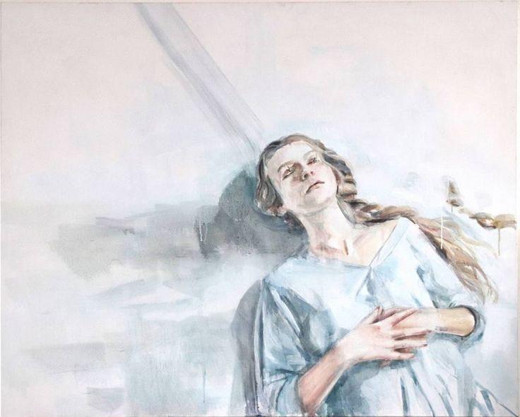 "original artwork ""October"" , oil on canvas by Ruta Matuleviciute"