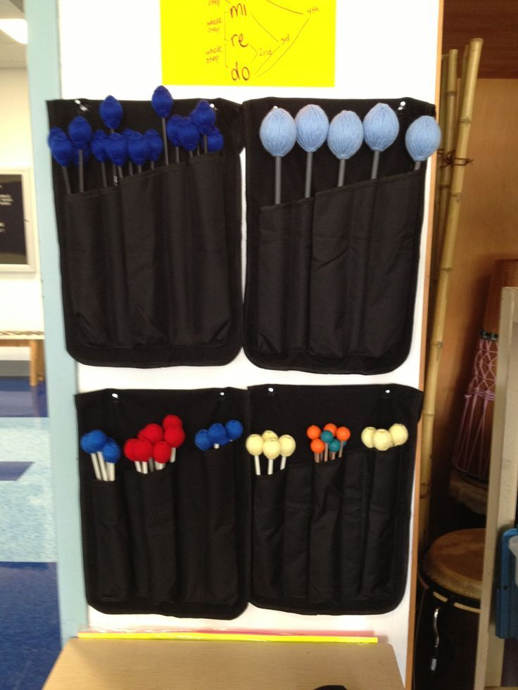 Orff mallet holders