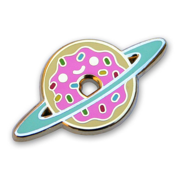 Donut Galaxy Enamel Pin