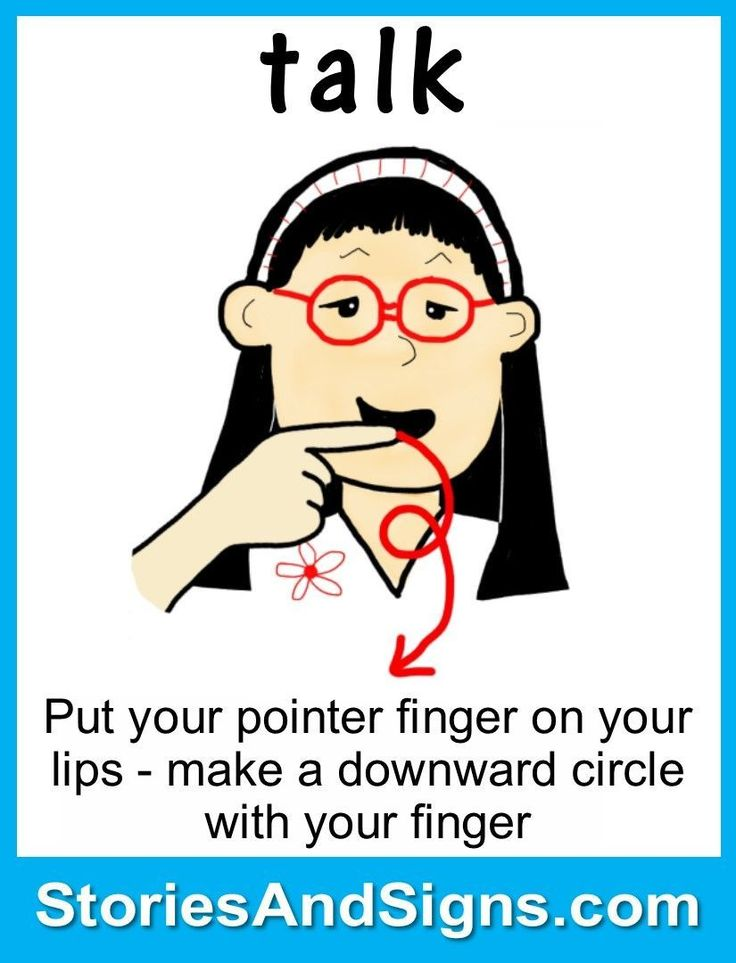 100 first signs: American Sign Language (ASL)