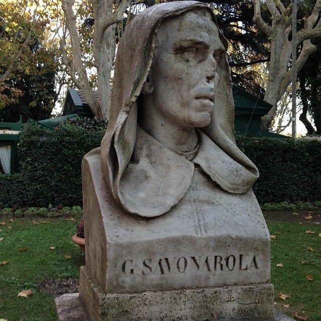 Stanislav Lvovsky. Rome. Savonarola | Villa Borghese