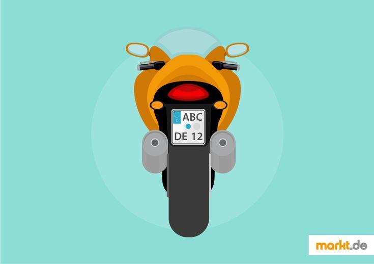 Wie beantrage ich ein Motorradkennzeichen? | markt.de #motorrad #kennzeichen #antrag