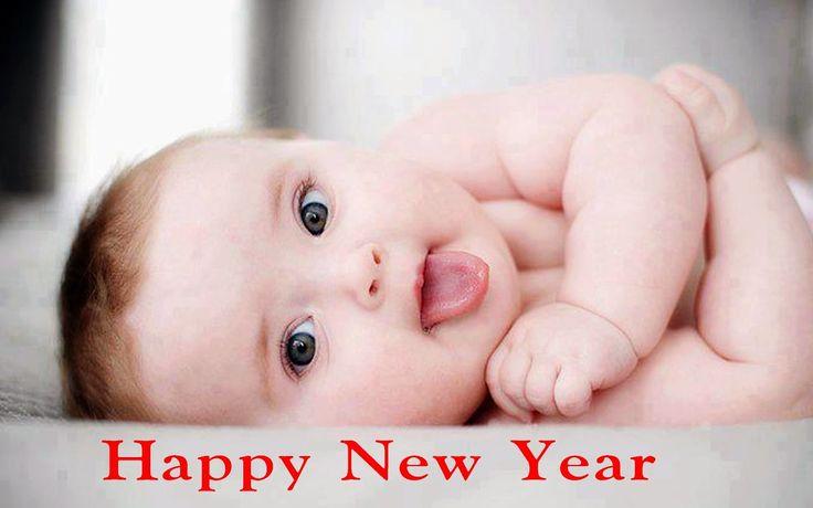 Cute Babies Happy new year 2015 hd pictures