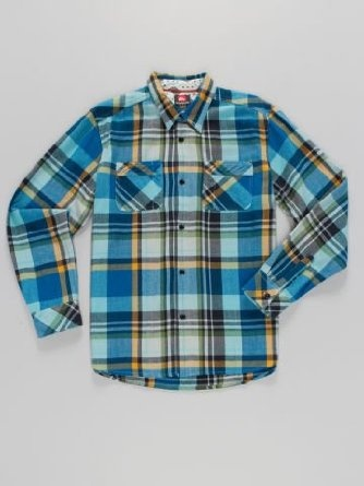 Quiksilver Men's Bigs Plaid Flannel Shirt  Price: $35.99 - $39.98