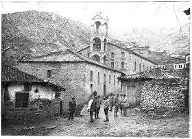 """Εκκλησία Αγ. Γεωργίου """"Sv. Georgi"""" Κρυσταλλοπηγή 1917"""