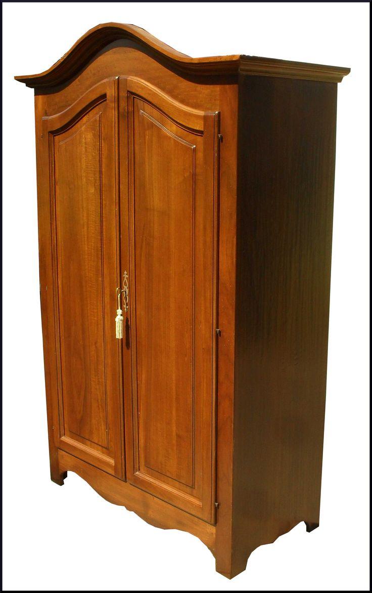Armadio a due porte in stile piemontese realizzabile su misura