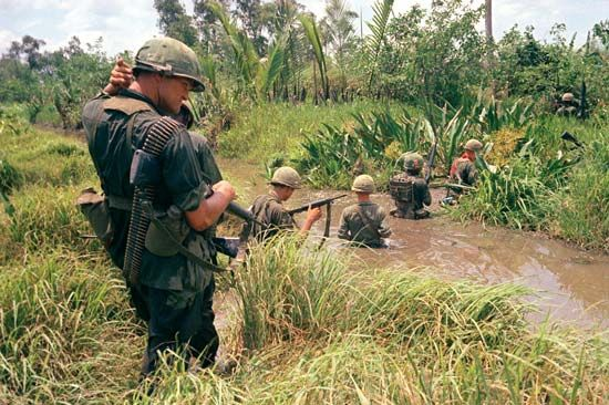 Vietnam War: The Vietnam War (1954–75) pitted North Vietnam against South Vietnam and its main ally, the United States.