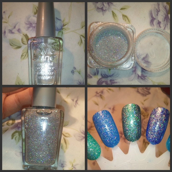Glitter Nail Polish Make Your Own: Make Your Own Glitter Top Coat Using A Clear Base And Fine