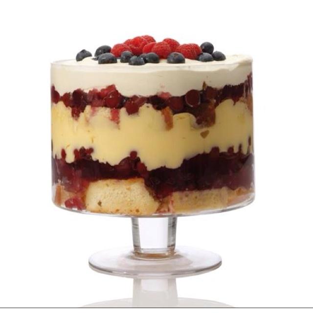 Trifle Bowl Recipes: Diamanté Footed Trifle Bowl