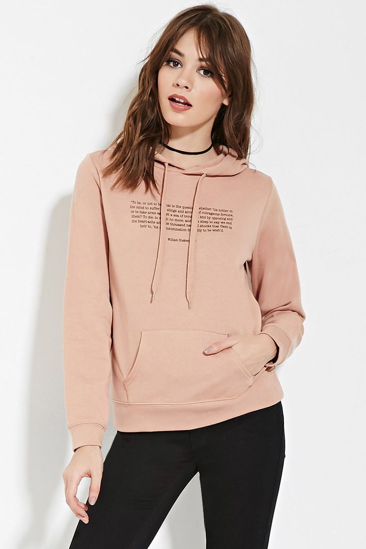 hamlet quote graphic hoodie forever 21 canada fashion