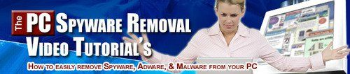 PC Spyware Removal Video Tutorials  How To Remove Spyware Adware & Malware From Your PC