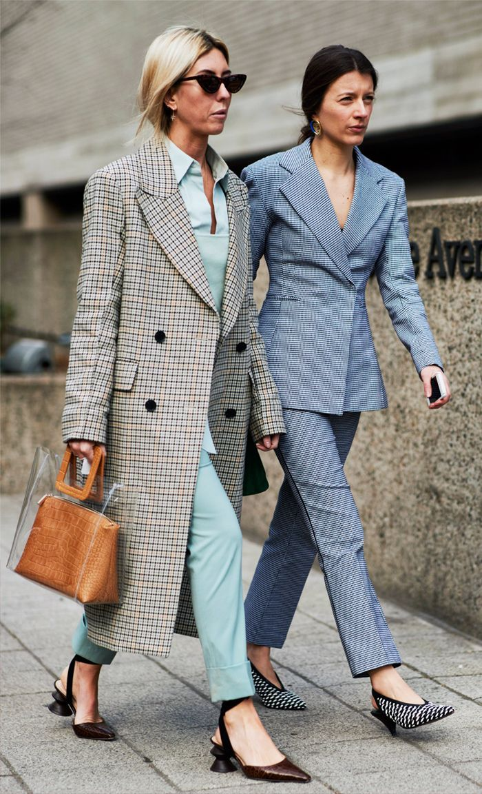 This season, it seems like every other showgoer is wearing a statement trouser suit, and there is one in particular that has been a hit. Click to shop!