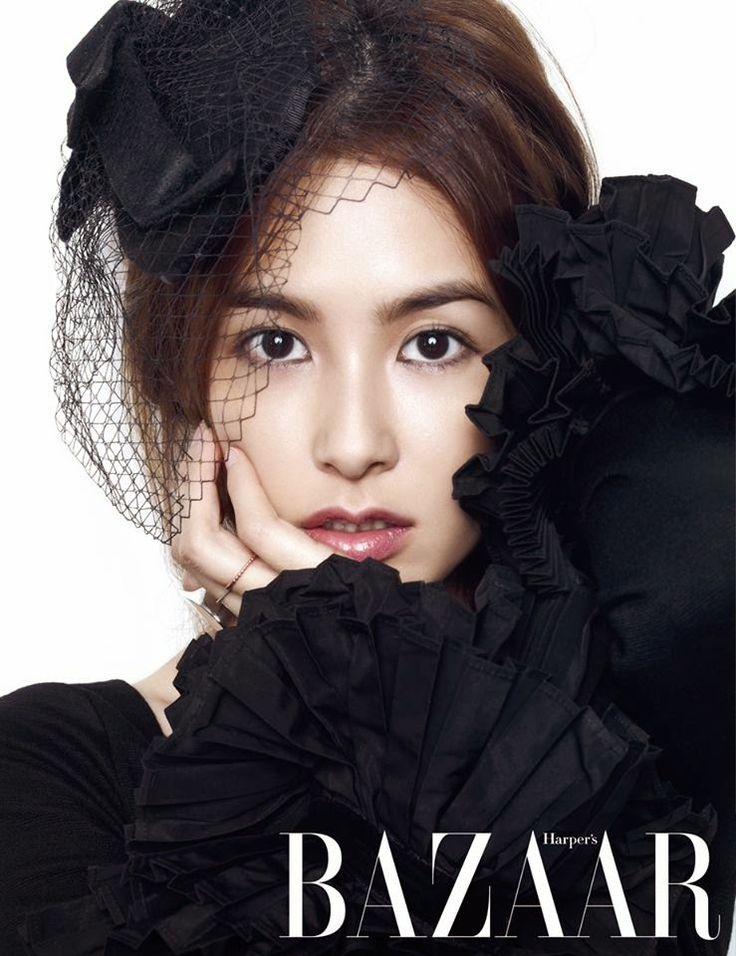 Kang Hye Jung - Harper's Bazaar Magazine December Issue 2014