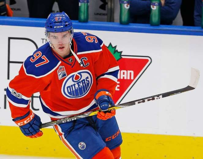 Hart Trophy (MVP finalist): Edmonton Oilers forward Connor McDavid. McDavid won the Art Ross trophy by recording 30 goals and 70 assists for 100 points.  -  May 3, 2017