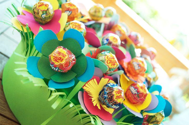 Tweedot blog magazine - giardino fiorito di Chupa Chups per bambini e ragazzi
