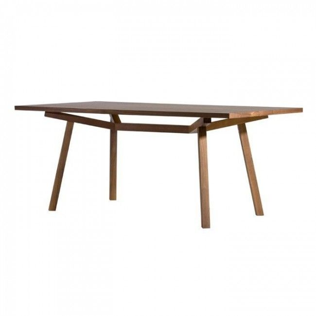 Forte Rectangular Timber Dining Table