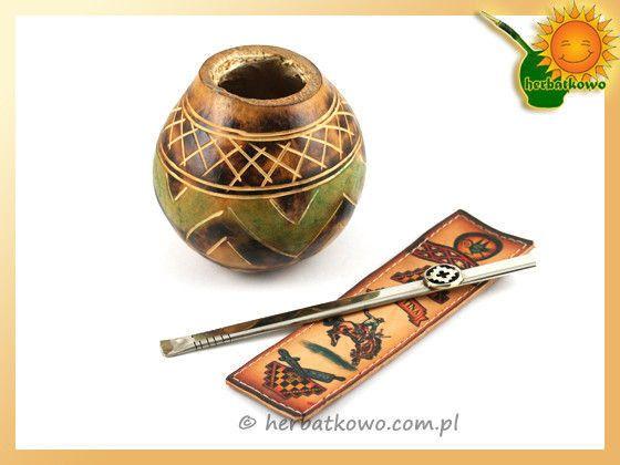 Zestaw do mate Salta | www.herbatkowo.com.pl