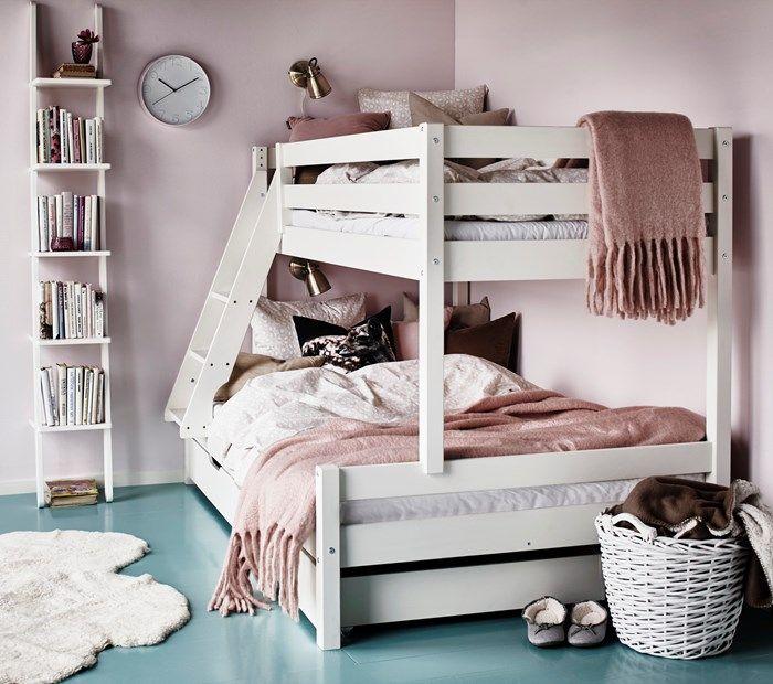 Steghylla som sängbord