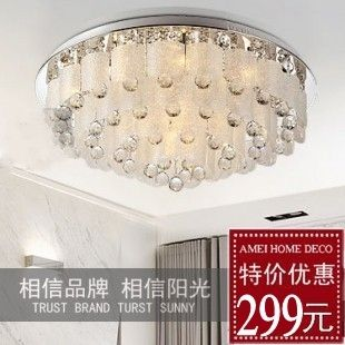 Aliexpress Buy Modern Fashion Luxury Led Crystal Lamp Ceiling Light Living Room Lights