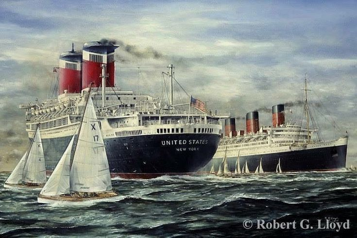 The elegant and intimate sister ships of the French Line