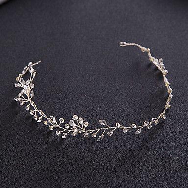Mujer Diamantes Sintéticos Aleación Celada-Boda Ocasión especial Casual Al Aire Libre Coronas 1 Pieza 5341325 2017 – $17.99