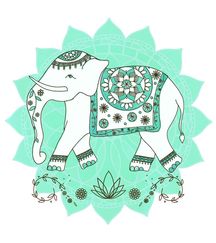 #ElementEdenArtSearch   'Indian Elephant' Katie Rewse