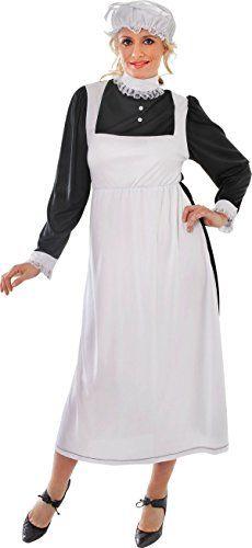 Victorian Maid - Adult Fancy Dress Costume Bristol Novelty https://www.amazon.com/dp/B0168LOAW8/ref=cm_sw_r_pi_dp_x_DcaaybNDNJ9FJ