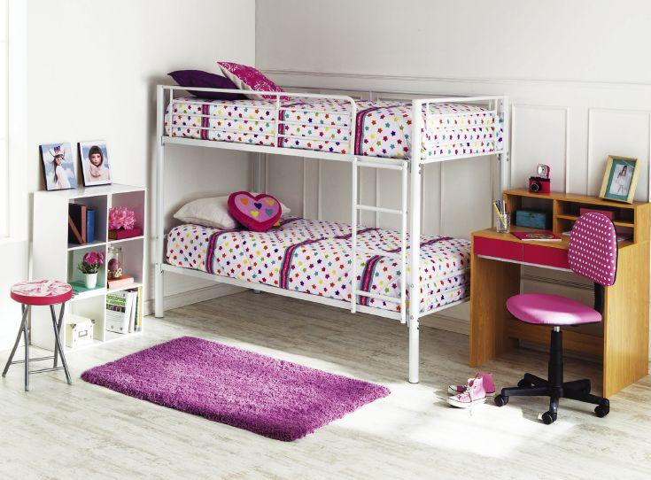 Para las princesas de la casa también hay mucho estilo y diseño innovador. #YoAmoMiCasa #Muebles #Camarote #tiendaeasy  #easytienda
