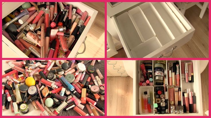 Make-up opruimen ❤ nude lipgloss lade