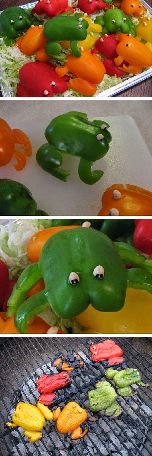 Paprika kikkers