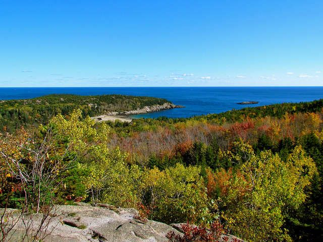 Maine in the fall is supposed to be gorgeous. Plus, blueberry season runs through early fall and lobster season runs through December. On the list!