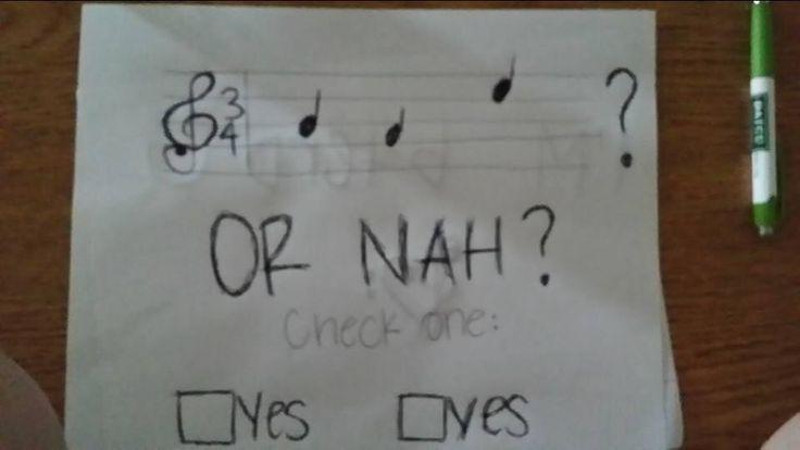 Hahaha band nerds will understand ;p