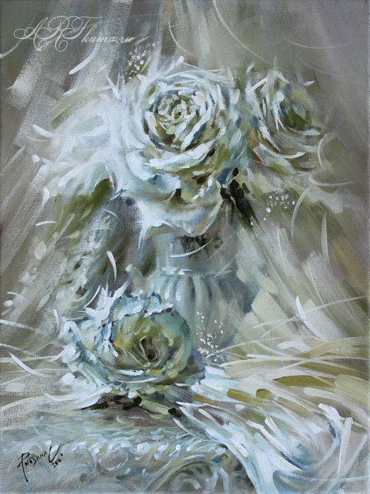 Белый танец. Розы.