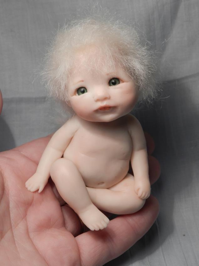 Лепим малыша с открытыми глазками - Ярмарка Мастеров - ручная работа, handmade