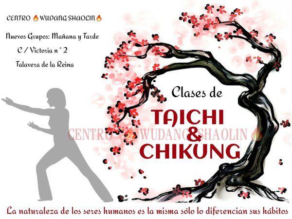 Nuevos Grupos : Mañana y Tarde  Escuela de Artes Marciales   WUDANG SHAOLIN   C / Victoria n ° 2 Talavera de la Reina   #taichi #taichichuan #chikung