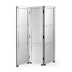 Elizabeth Mirrored Room Divider