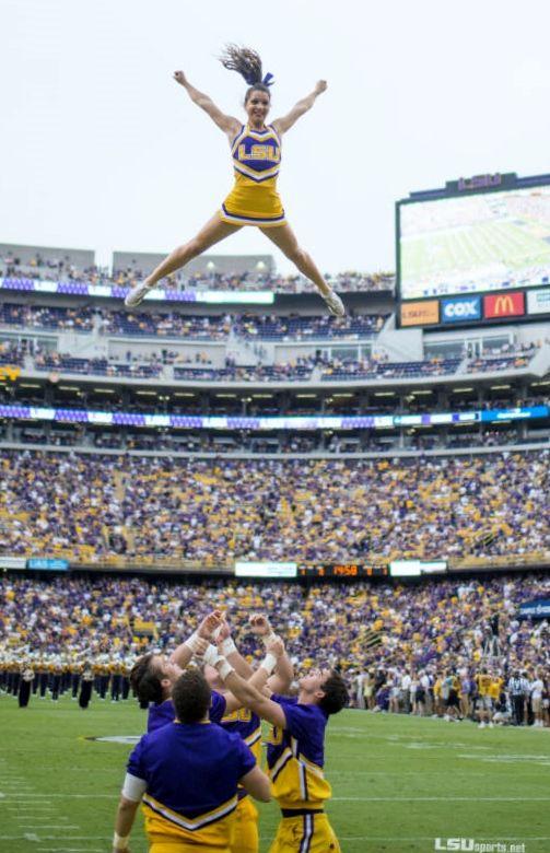 72 best LSU CHEERLEADERS images on Pinterest | College cheerleading, Lsu tigers and Lsu tigers