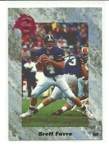 1991 Classic Brett Favre Rookie Card #129 by Classic Sport. $4.99. 1991 Score Brett favre Rookie Card