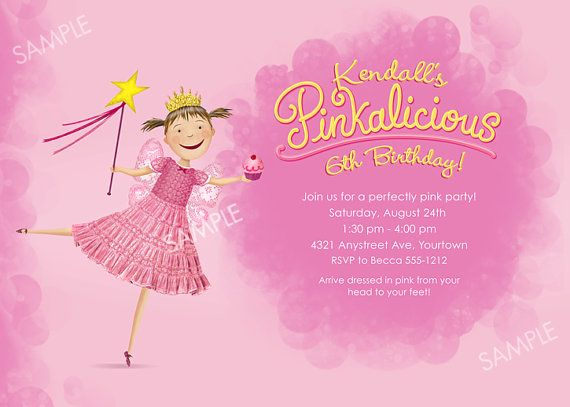 42 best Pinkalicious images – Pinkalicious Party Invitations
