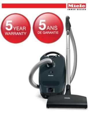Miele® S2 Dimension Canister Vacuum - Lava Grey - Sears | Sears Canada